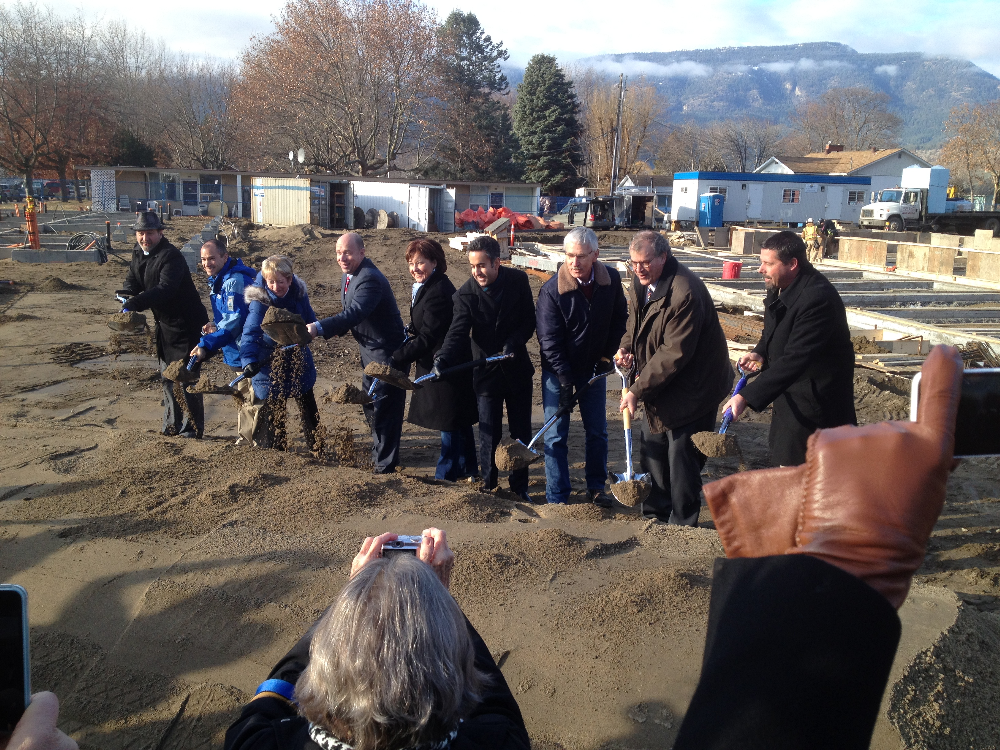 2014 Pleasantvale Sod Turning Dec 15